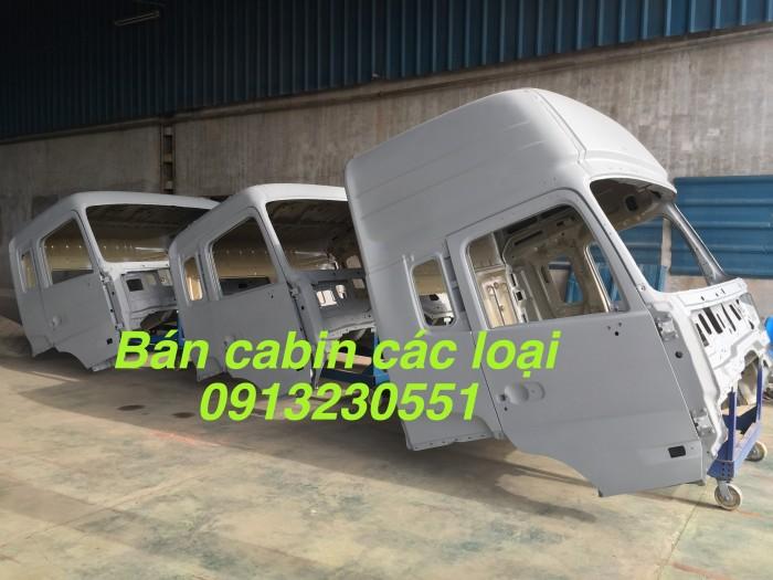 Bán vỏ cabin dongfeng nóc cao các loại jac camc ben chenglong