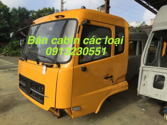 Bán cabin đầy đủ Dongfeng Jac Cửu Long Howo Thaco Foton Auman