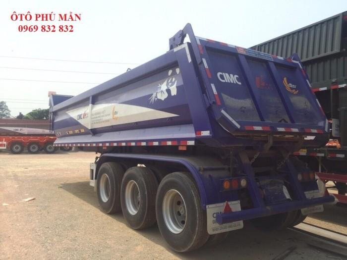 THÔNG SỐ KT CƠ BẢN Khối lượng bản thân: 8.350kg Khối lượng chuyên chở theo thiết kế: 31.650kg Khối lượng chuyên chở cho phép khi tham gia giao thông: 30.650 kg Khối lượng toàn bộ cho phép tham gia giao thông: 40.000kg Số trục: 3 Lốp; 12R22.5 Kích thước lòng thùng hàng: 8200 x 2310/1650 x 1330/1060(mm) Nhập khẩu Trung Quốc Năm sản xuất: 2015 Tình trạng mới: 100%