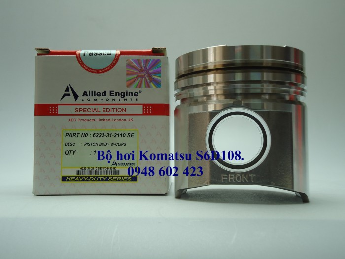 Bộ hơi Komatsu S6D108. 1