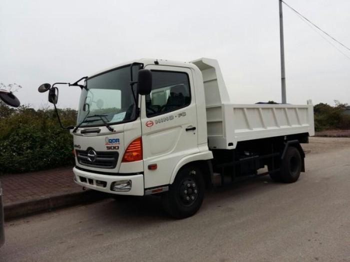 Bán xe tải ben HINO 9