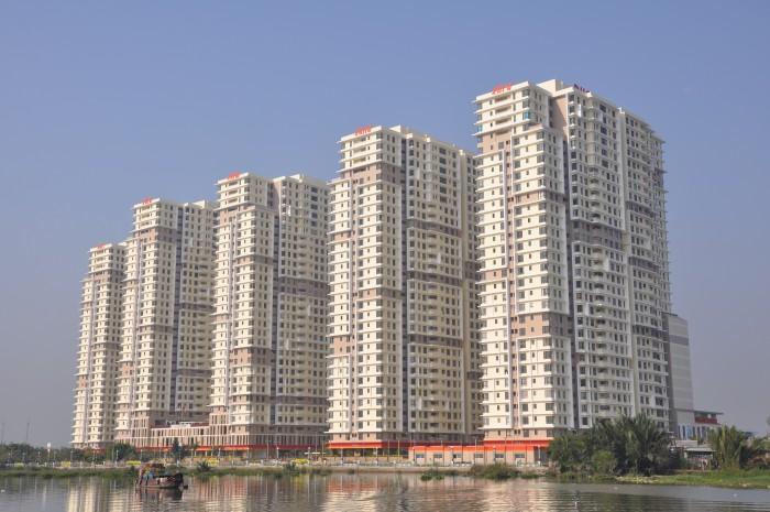 Căn hộ Q7 cách Phú Mỹ Hưng 500m,2PN-1,9 tỷ, nội thất đầy đủ, dọn vào ở ngay, 3 view sông