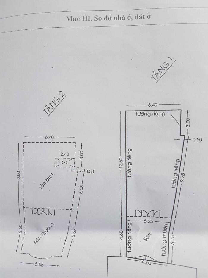 Cần bán nhà H4m Phan Xích long, P.3 , Phú Nhuận, 4.6x18m (nỡ hậu 6,4m), 2 Lầu