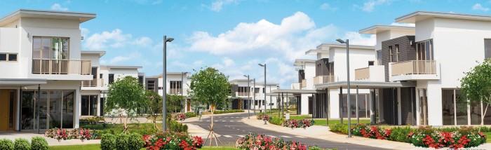 Nhà phố nghĩ dưỡng tại Swan bay đảo Đại Phước, Nhơn trạch