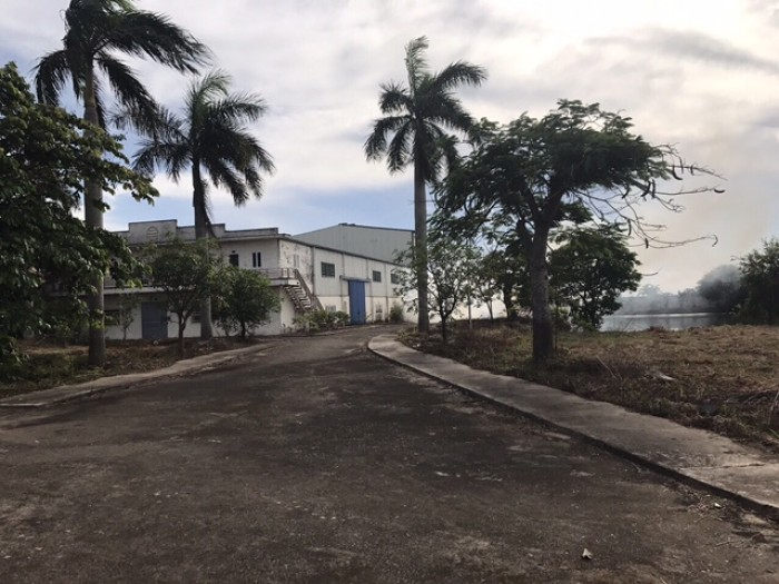 Bán đất 11000m có nhà xưởng 1000m tại xã An Thái, An Lão Hải Phòng có thể thuê
