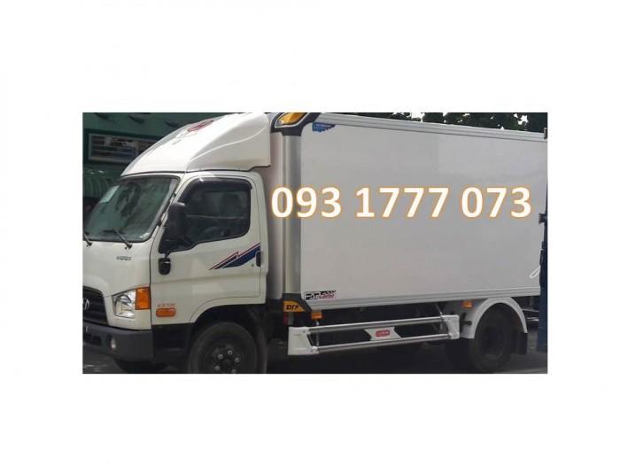Xe Hyundai HD99 Thùng Bảo Ôn - Giá Xe Thùng Bảo Ôn HD99 6,5 tấn - Khuyến Mãi Trước Bạ Xe HD99 6,5 tấn