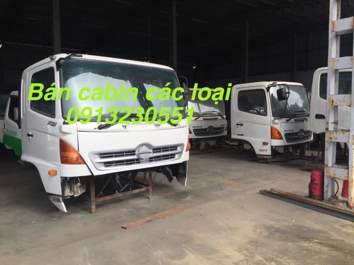 Bán cabin hino 300-700 các loại trắng, howo dongfeng thaco đủ nội thất