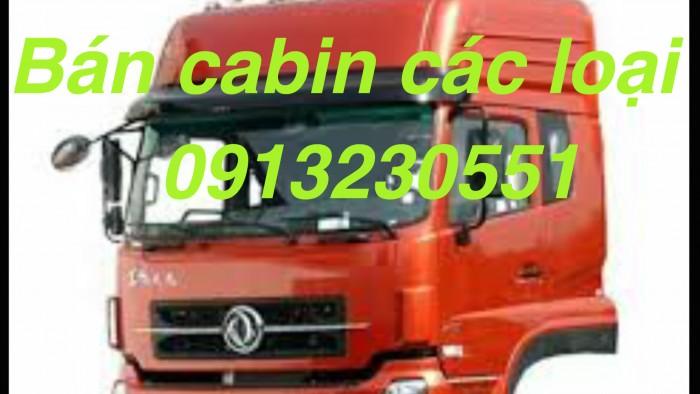 Bán cabin tổng thành dongfeng l315 howo camc thaco Cửu Long kèm đầu đủ linh kiện