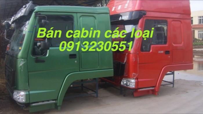 Bán cabin howo ben tải và chuyên dụng các cỡ