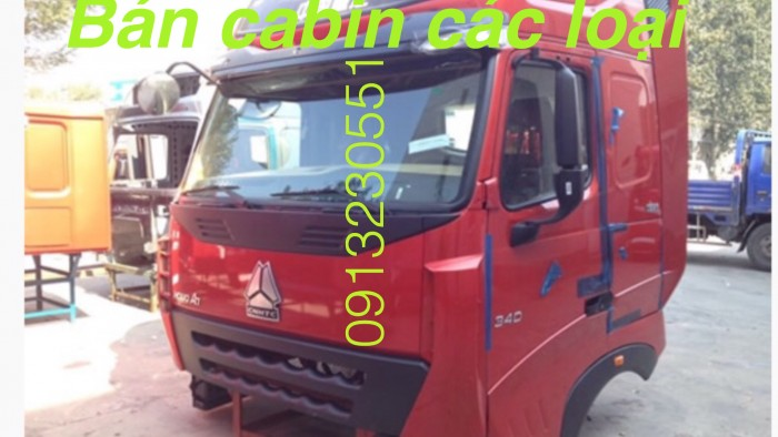 Bán cabin tổng thành howo a7 mới nhập khẩu các màu