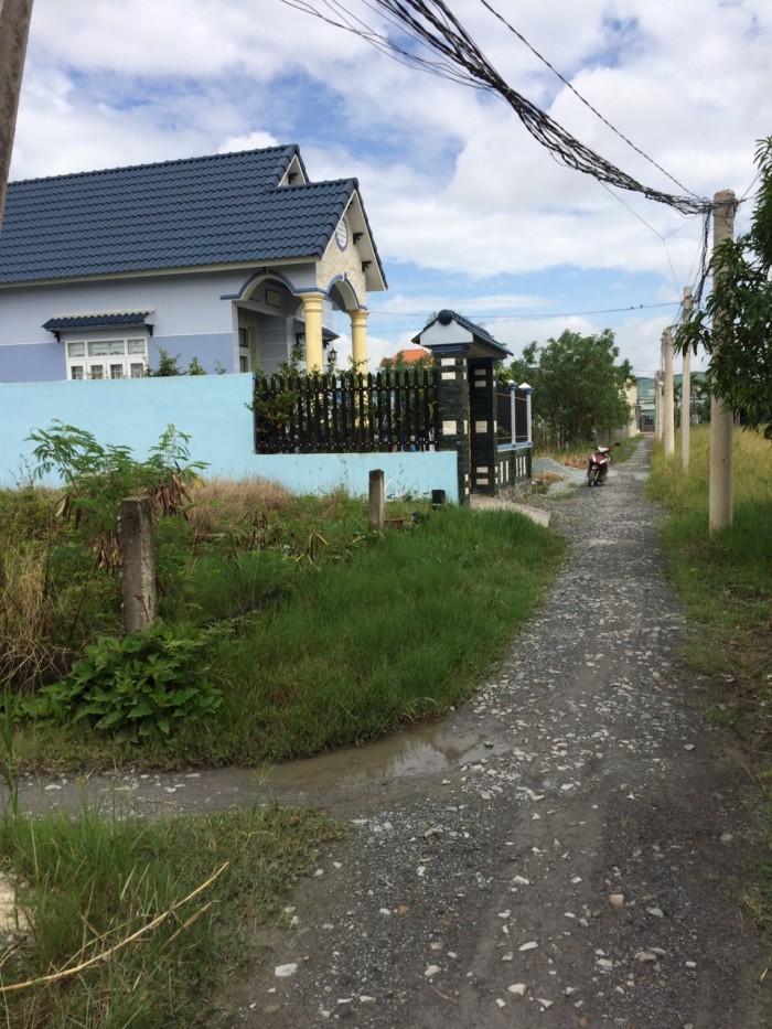 Đất Trường Bình 2 MT 85 m2 thổ cư 100%, huyện Cần Giuộc