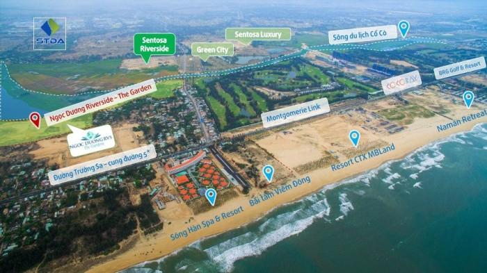 Sở hữu lô biệt thự mặt sông đẹp nhất dự án Ngọc Dương Riverside.
