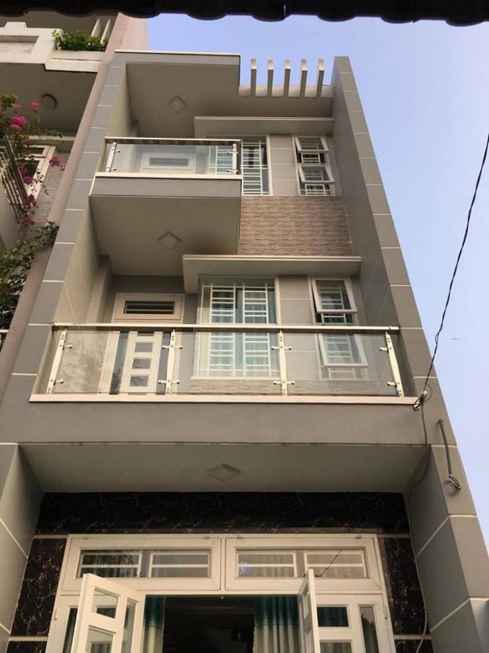 Nhà Phú Nhuận, 3L, 5PN, nội thất, 50m2