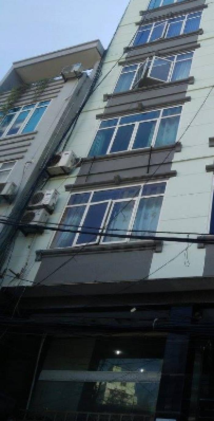 Cần bán nhà Nguyễn Khuyến, DT 43, 5 tầng, MT 4m,  ô tô vào nhà
