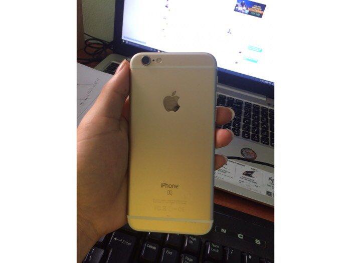 Iphone 6s lock gold2