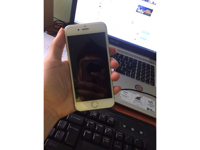 Iphone 6s lock gold4