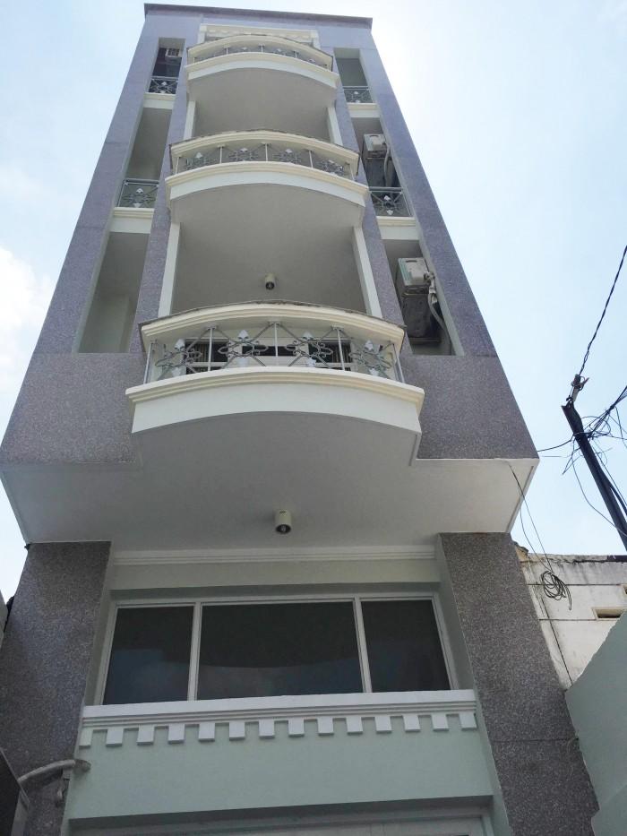 Phú Nhuận cho thuê phòng Ban Công, full nội thất, Free nước, nét, cáp, camera,thang máy