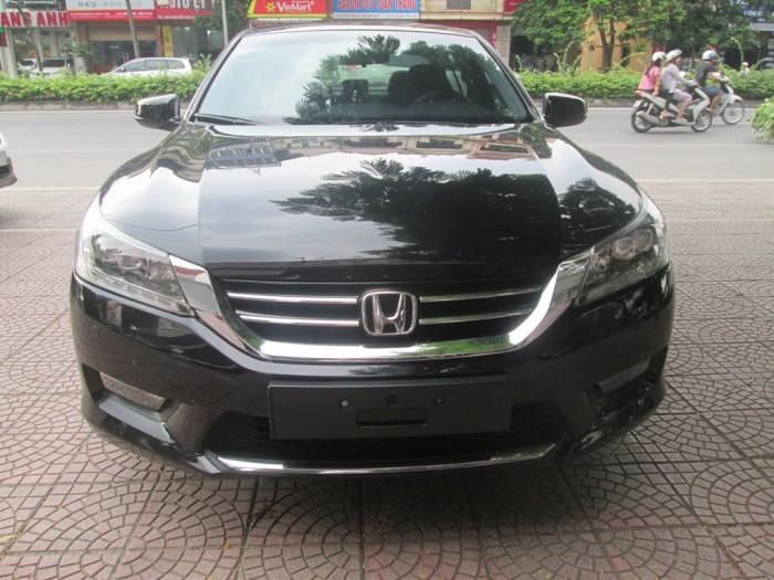 Honda Accord 2.4  sản xuất 2014, model 2015. Màu đen