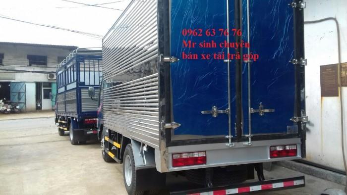 Xe tải trả góp - xe tải jac 2t4 thùng kín 4