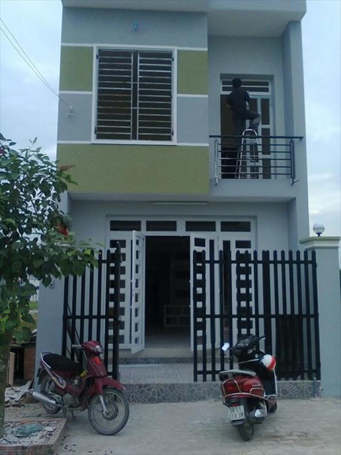 Nhà phố 1 trệt 1 lầu, 4PN, 2 Tolet, Nhà mới chỉ 410Tr nhận nhà