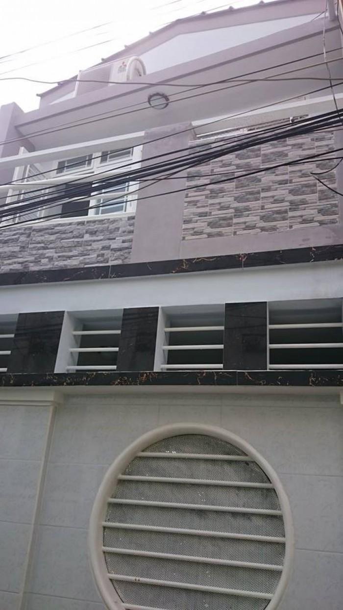 Hẻm 3m Trung Lang, p.12 Tân Bình, 4x10m, 2 lầu, 40m2, TL, nhà mới
