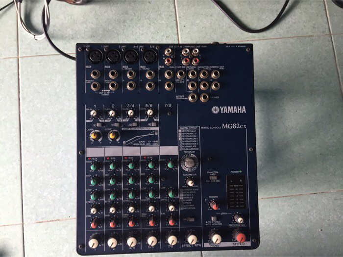 Mixer karaoke0