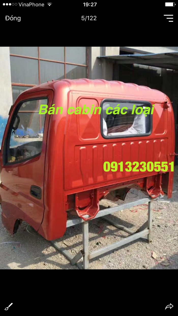 Bán cabin thaco ollin forland jac foton auman dongfeng