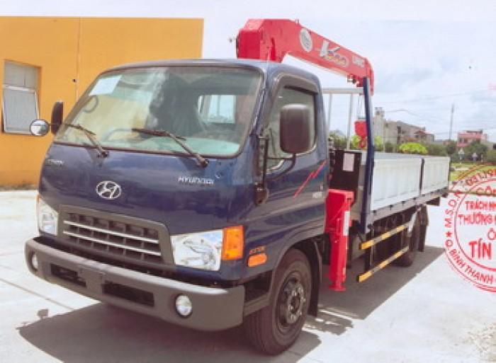 Bán Hyundai Hd99 6,5 Tấn Gắn Cẩu Unic 330 - 4 Khúc 0