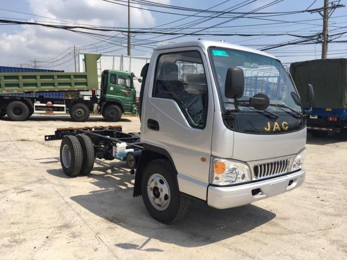 JAC Tải nhẹ sản xuất năm 2017 Số tay (số sàn) Xe tải động cơ Xăng