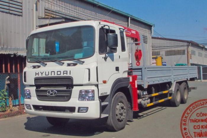 Bán Xe Hyundai Hd250 Gắn Cẩu Unic 550 - 3 Khúc 1