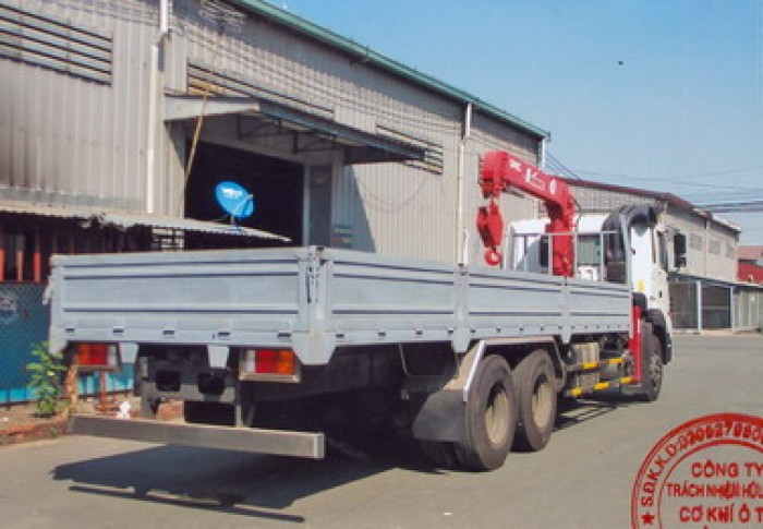 Bán Xe Hyundai Hd250 Gắn Cẩu Unic 550 - 3 Khúc