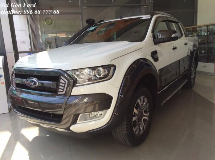 Tặng phí trước bạ 100% khi mua Ford Ranger Wildtrack 2019, giao xe trong 30 ngày