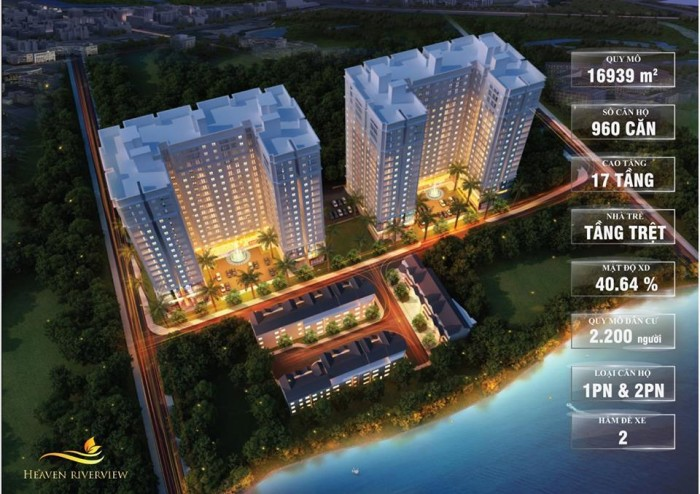 Giữ chỗ Block B Heaven Riverview với 20 triệu/căn, hoàn tiền 100% nếu không mua được!!!