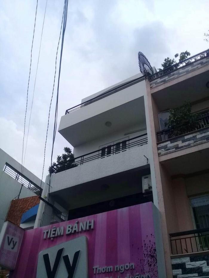Bán nhà mặt tiền Nguyễn Trãi đoạn 2 chiều, quận 5, diện tích 68m2