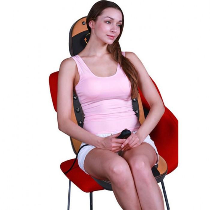 Đệm ghế massage hồng ngoại F03 Nhật Bản massage toàn bộ cơ thể