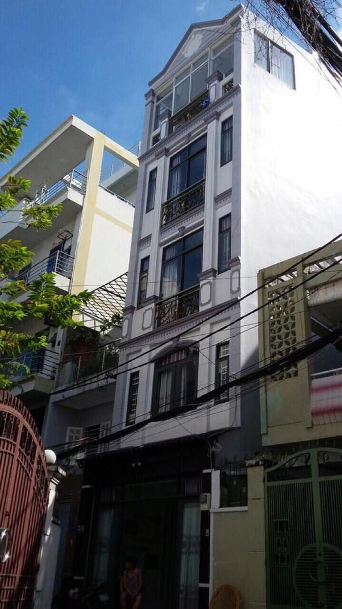 Nhà bán gấp Nguyễn Trọng Tuyển,Phú nhuận 47m2 hẻm 8m- 6PN- 4T, 5.2 tỷ kinh doanh.