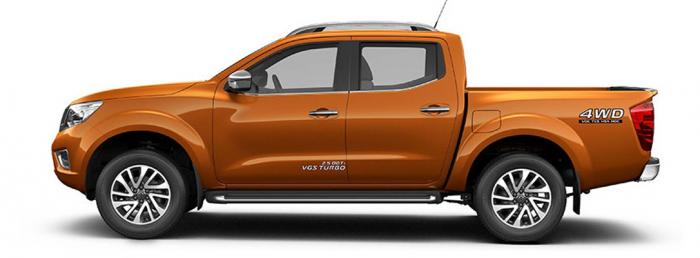 Nissan Navara VL mua xe tặng phụ kiện