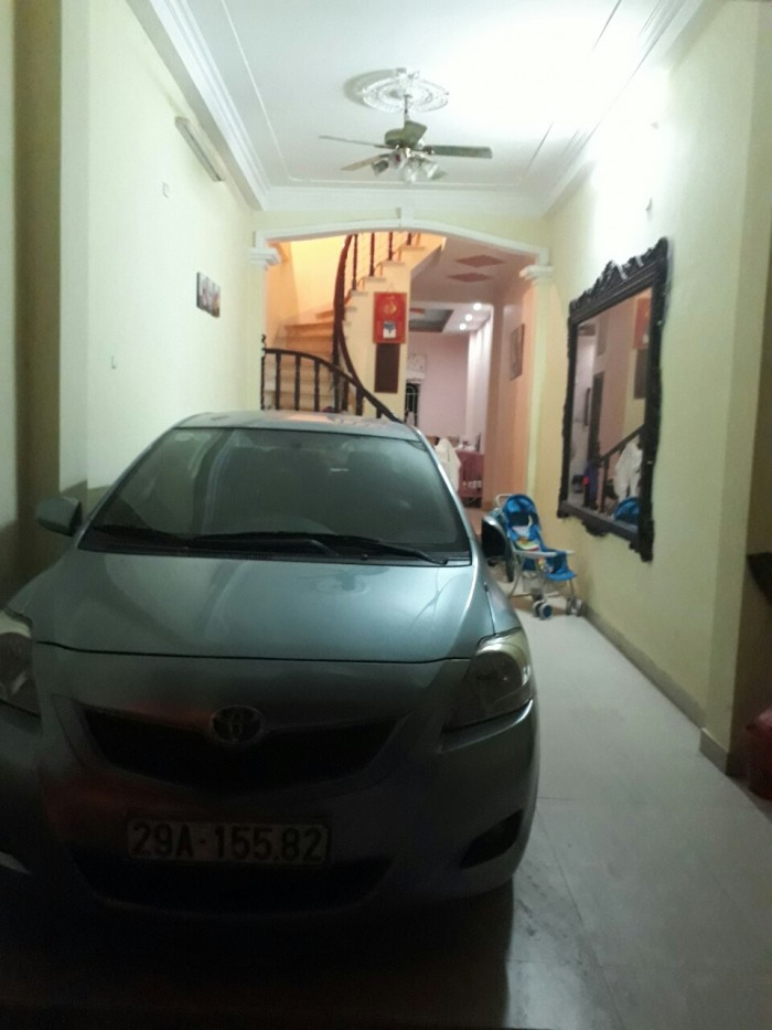 Phân Lô đường Giải Phóng, Hoàng Mai ô tô vào nhà,52m2,4 tầng,MT 4m