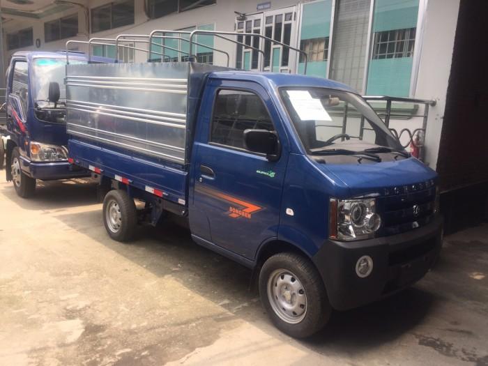 Xe tải nhỏ/ xe tải dongben/ xe dongben 870kg/ xe dong ben thùng mui bạt giá rẻ