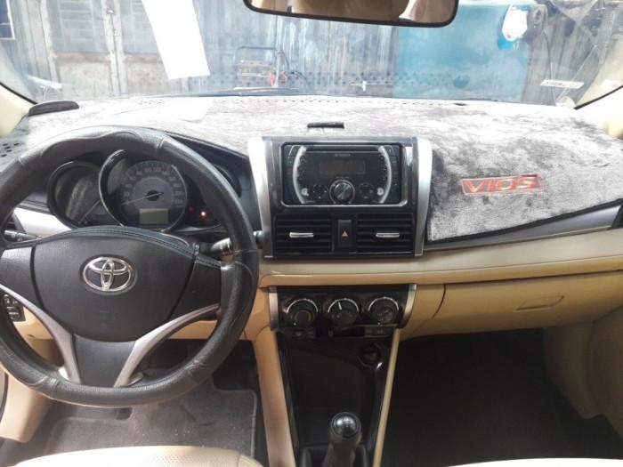 Bán Toyota vios  E 1.5MT màu hồng phấn biển SG 2015 6