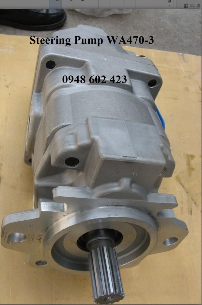 Steering Hydraulic Pump WA470-3.