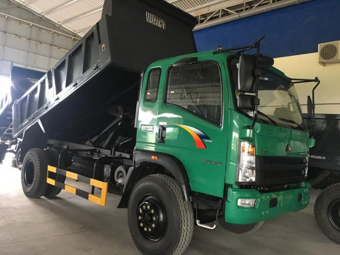 Xe ben Howo 9 tấn Sinotruk TMT ST11895D tại Kiên Giang