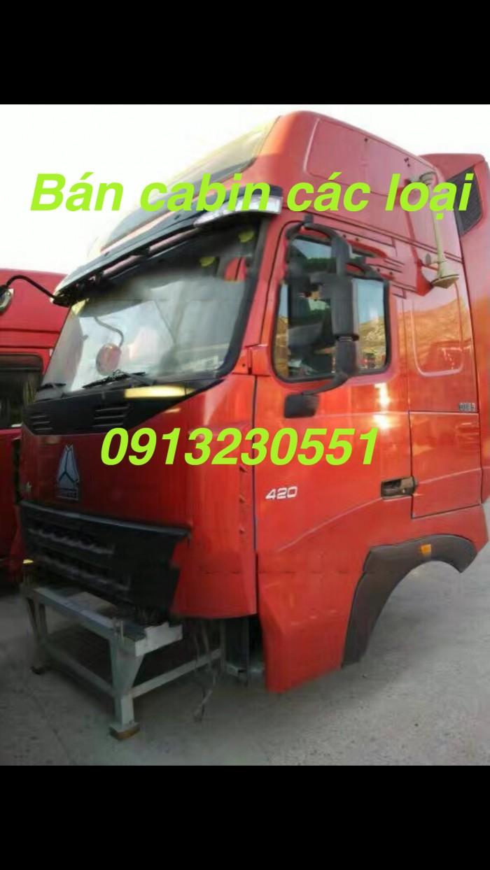 Bán cabin howo a7 t7h t5g các loại xe ben tải jac cheng long dongfeng