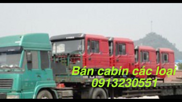 Bán cabin shacman dongfeng howo