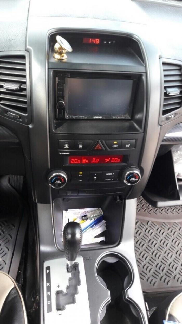 Bán Kia Sorento 2.4AT sản xuất 2011 màu ghi xám full options