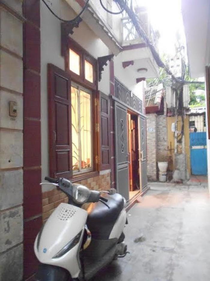 Chính chủ bán nhà riêng Thụy Khuê, HN dt 32m2, mt 5m căn góc nở hậu ngõ thông