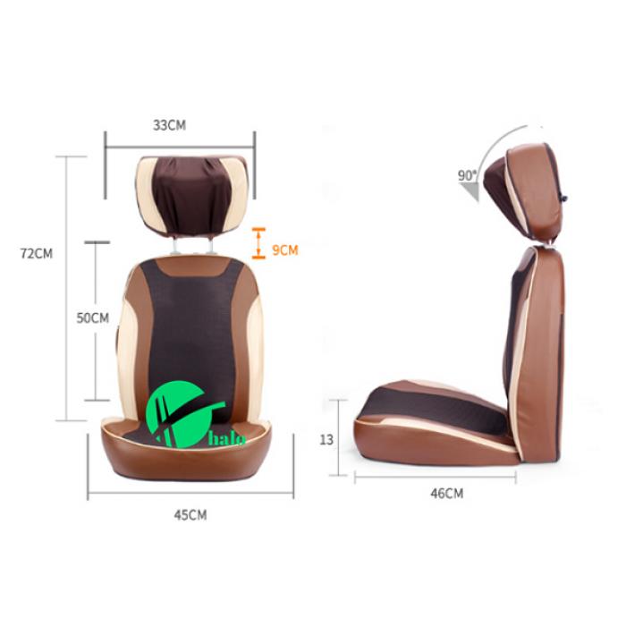 Đệm massage 5d Nhật Bản Neck f08 2018