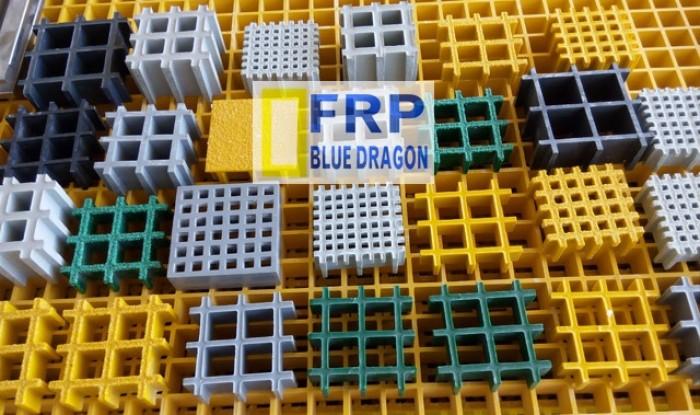Xây dựng nhà xưởng- tấm lót sàn frp kháng hóa chất, nắp mương nước chống rỉ sét 100%