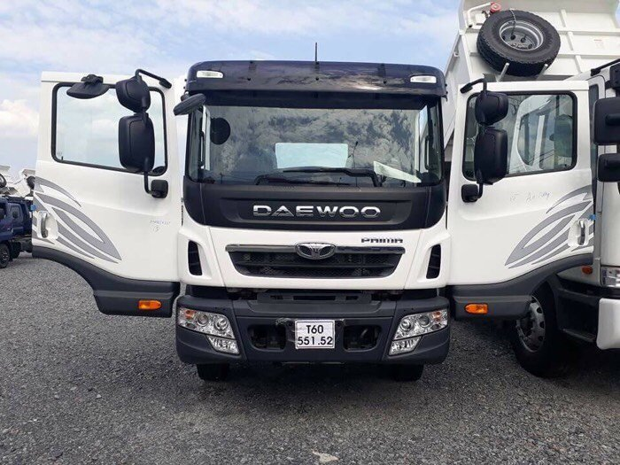 Xe Tải Daewoo Prima Chân Rút 15,5 Tấn 2015 Mới 100%