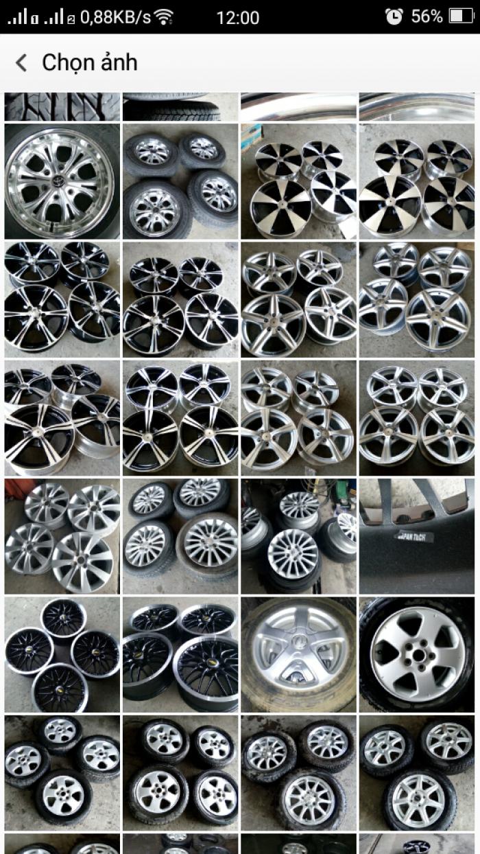 Mâm lốp xe ôtô 10